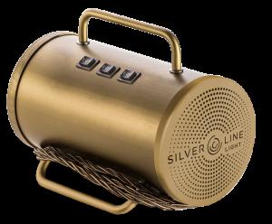 generatore ozono portatile Silverline Light con colorazione in oro