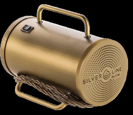 sanificatore portatile Silverline Blow con colorazione in oro